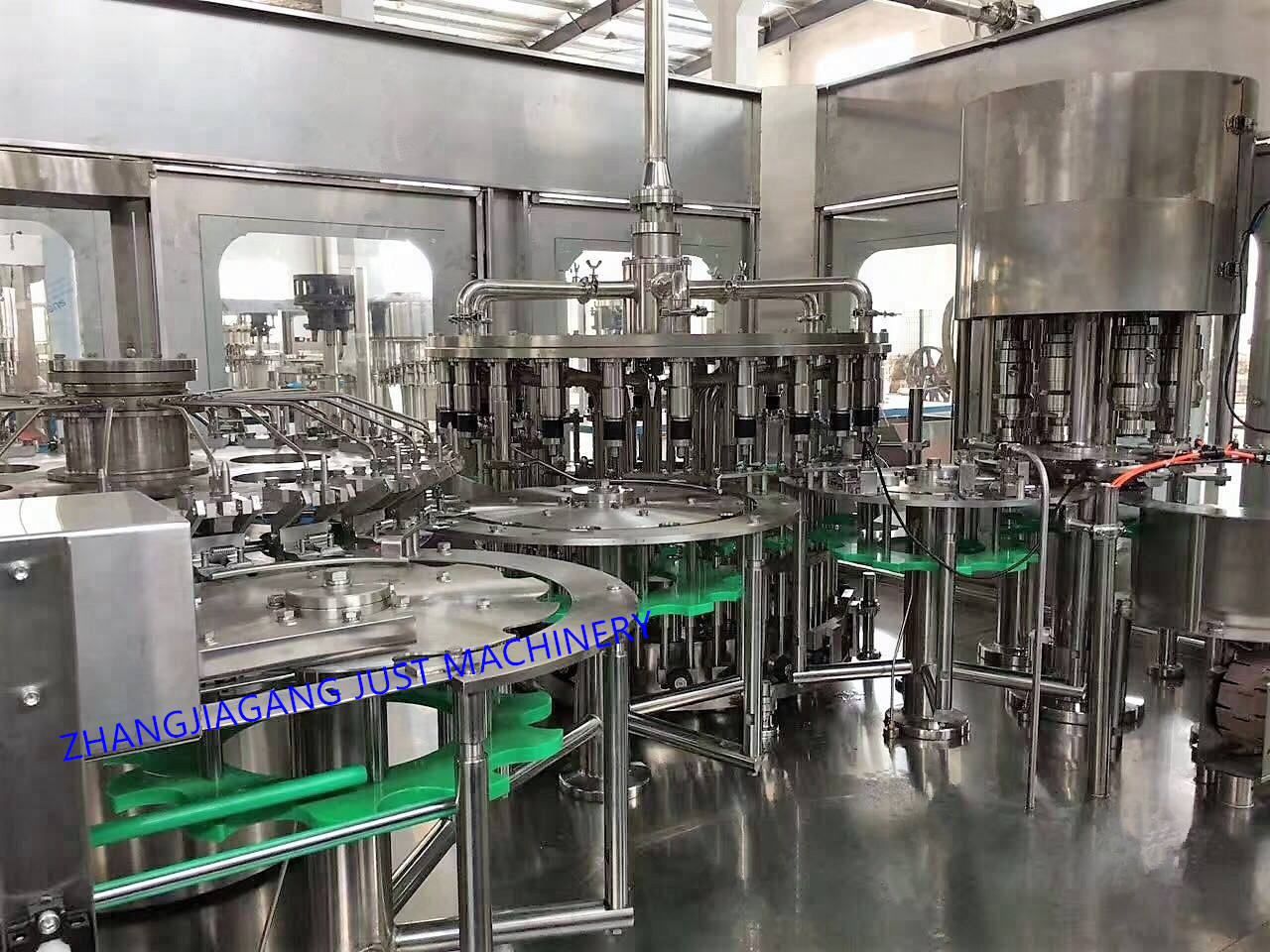 CE 1000-30000 bph Complete automatic juice filling machine for sale