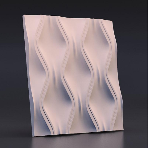Home Decor Gesso 3D Texture Fibra di Vetro Wall Panel