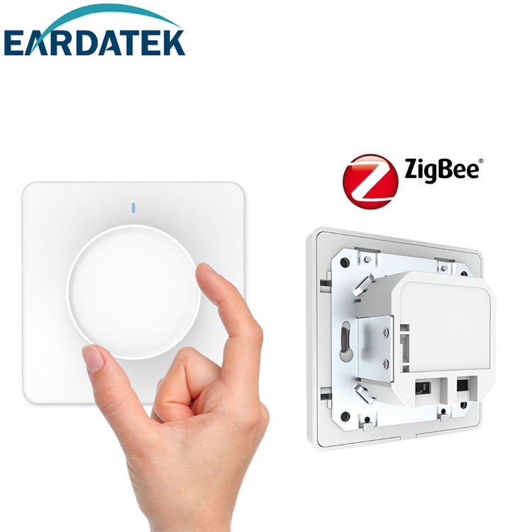 UNI EROPA Zigbee Push Button <span class=keywords><strong>Putih</strong></span> Nirkabel Rotary Hiled Bohlam Led Nirkabel <span class=keywords><strong>Dimmer</strong></span> <span class=keywords><strong>Switch</strong></span>
