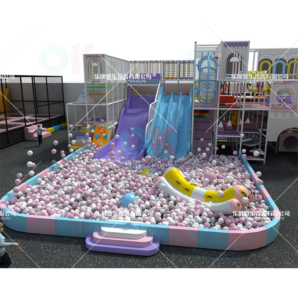 Toddler daycare playland naughty castle children soft play theme park equipment kid wooden softplay indoor playground set