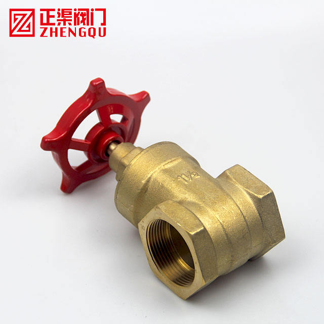 Brass Valve 1pc Brass Gate Valve DN15 1/2' BSP Female 1.6mpa Working Pressure Port