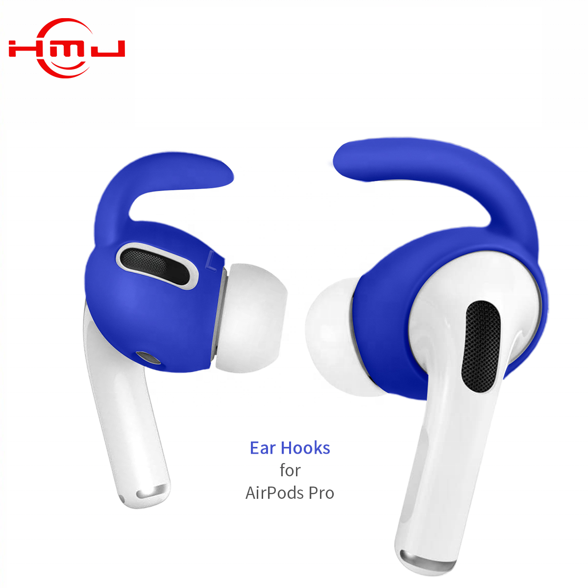Soft Silicone Ear Hooks Anti-Slip Ear Covers Ear Tips Earbuds Covers Skin Earphone Accessories for AirPods Pro