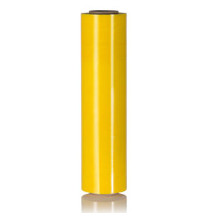 Multi Color Yellow Stretch Wrap Film Plastic Wrapping Film