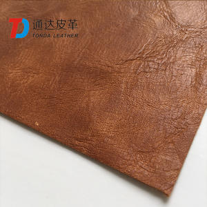Tonda Synthetic Leather Fabric Vegetable Fashion Leather cow fake leather For Handbag gift package T0317