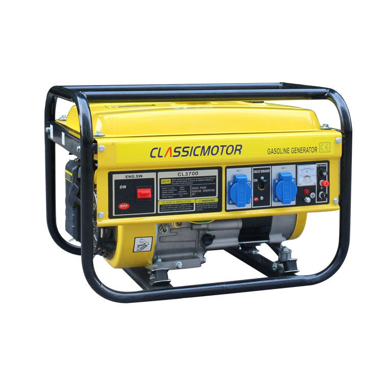 Backup Generator for Home Use 2kw Portable Petrol Electric Generator Power Generator