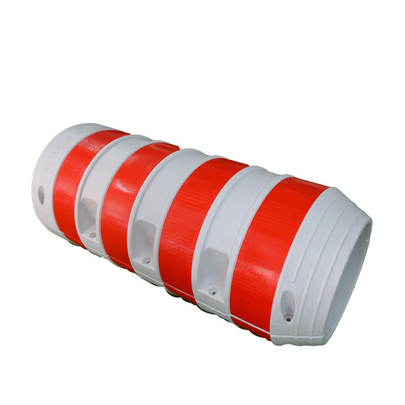 Rotational molding road safety traffic plastic barriers with impact resistance