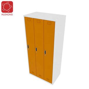 File cabinet office Steel Storage Metal 3 doors lockers metal