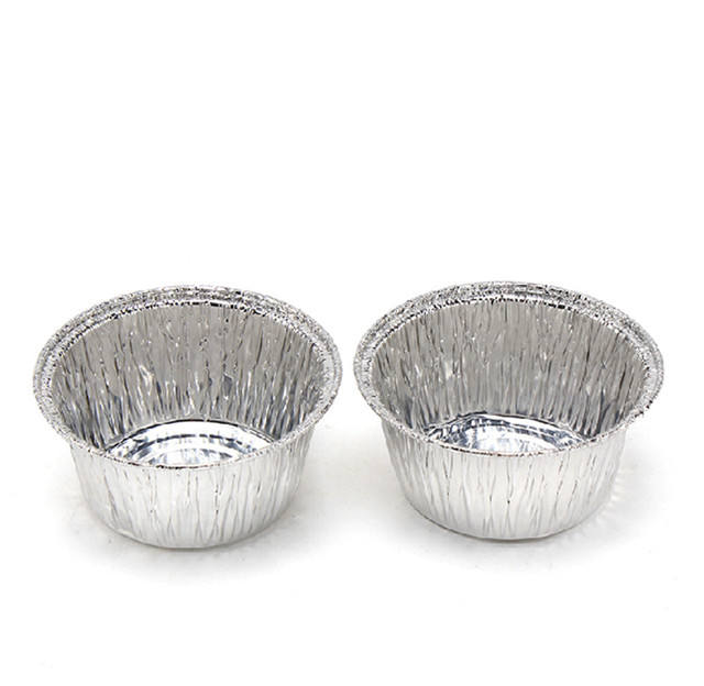 Disposable Aluminum 4 Oz Ramekins/foil Cups aluminum foil food bowl with plastic lid