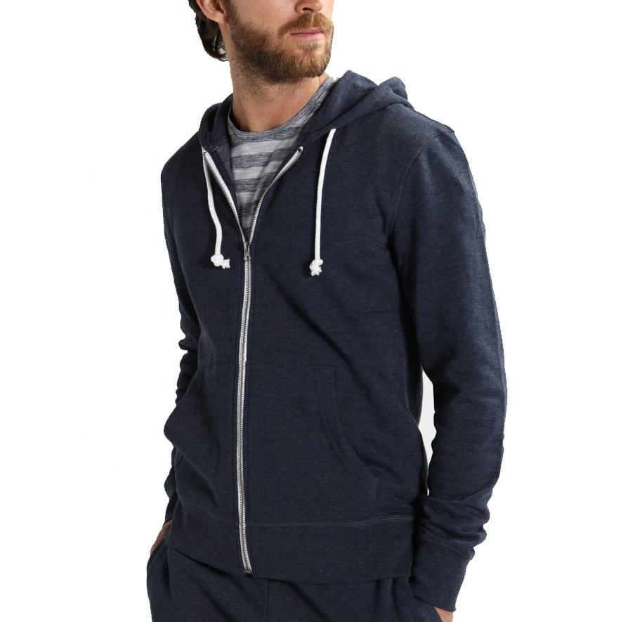 Wholesale custom fit men's zipper hoodies / new arrival latest design zip up hoodies