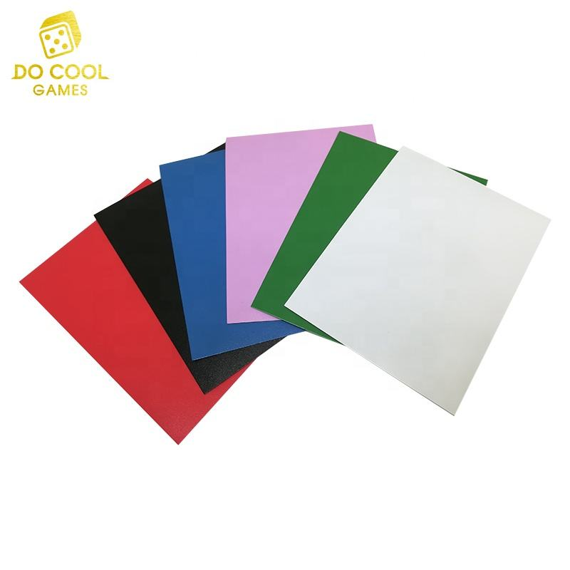 Direct standard factory Matte card sleeve for board game