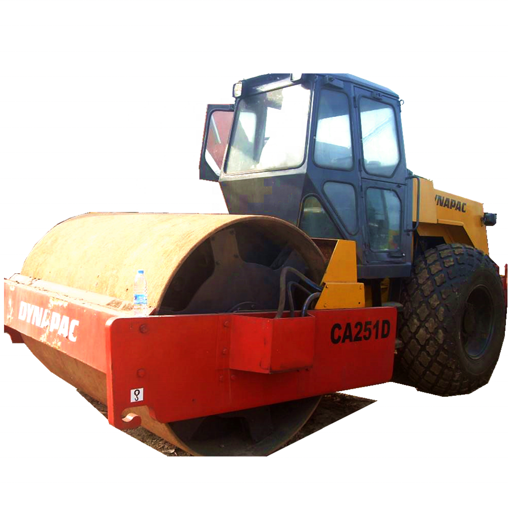 Cheap Used Dynapac CA251D/CA35D/CA30D/CA25D road roller used single trum tire roller/Vibratory Roller