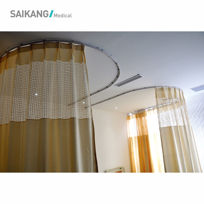 SK-CL004 Comfortable Hospital Bed Folding Medical Curtain