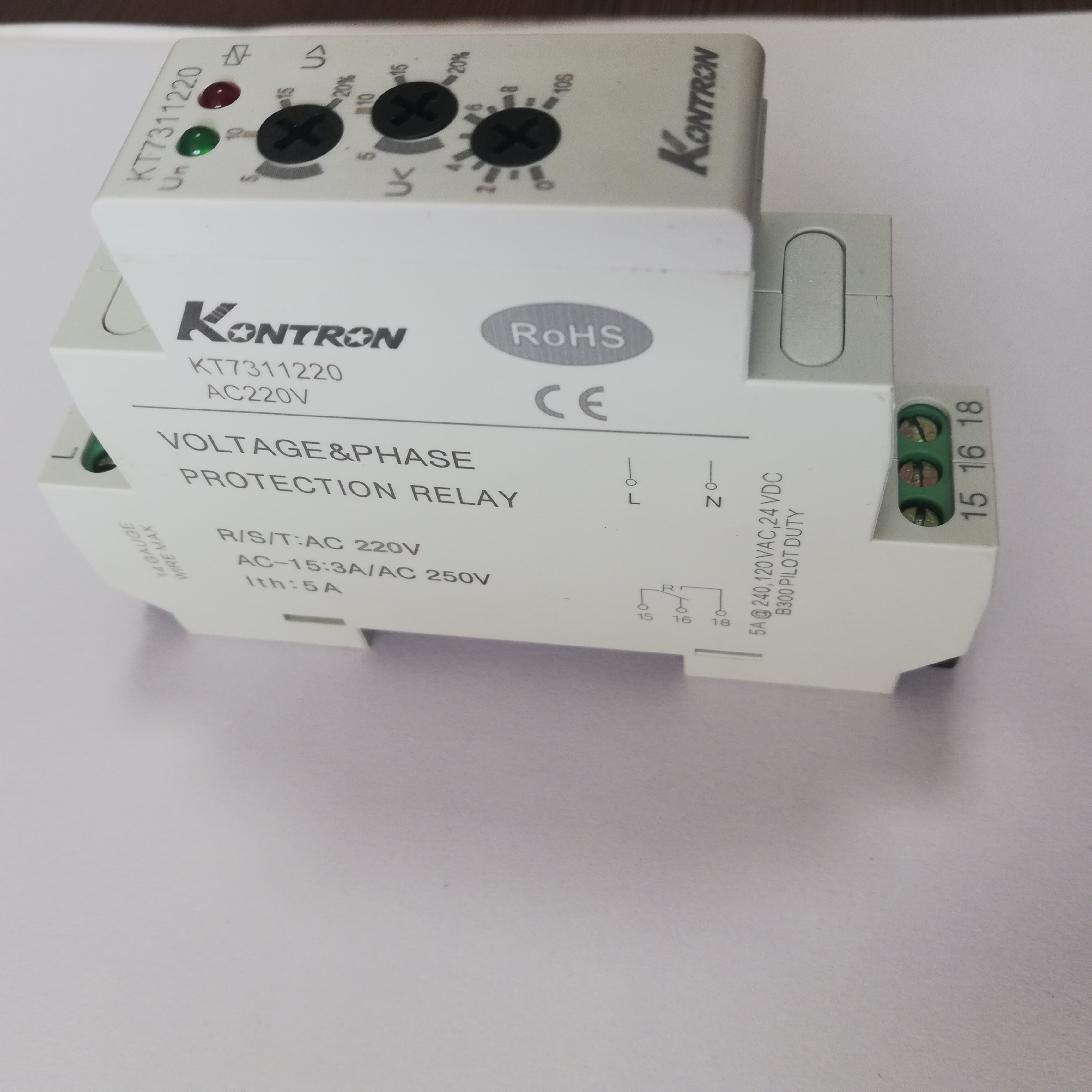 Kontron Volt dan Phase Protection Relay Phase