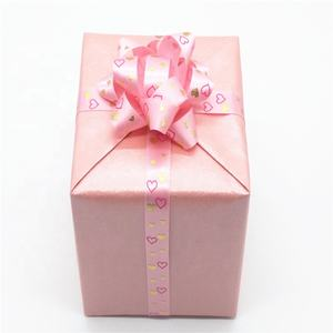 Wholesale Custom Sweetheart Pre-tied Gift Packing Ribbon Bows with Elastic Loop