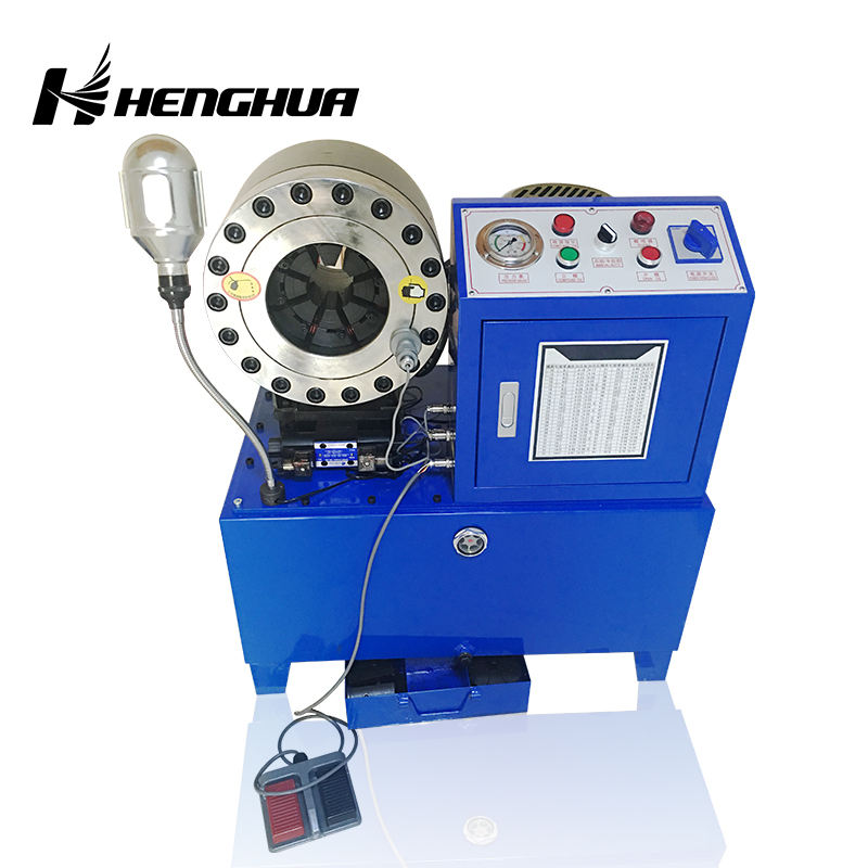 "dx68 (1/4""-2"") automatic power press for crimping of hight pressure hose / press hydraulic hose crimping"