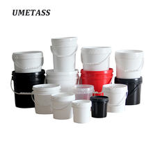 Umetass Food grade plastic PP bucket Various colors sizes Paint bucket BARREL PLASTIC PAIL