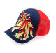 Unstructured 5 panel 3D embroidered baseball ball cap custom logo caps