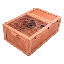 Hot Sale Design Wooden Tortoise x Hamster House Cage Reptile Habitat Small Animal Hamster  Acrylic Cages