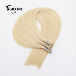 Nano Ring Tip Hair Extensions russian human hair