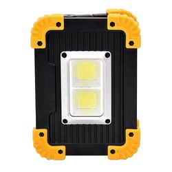 20 watt led work lights 1000 lumens usb outdoor powerful searchlight led rechargeable flood light