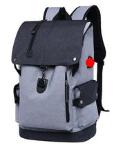 Special port usb laptop backpack bag for teens 600D polyester high quality anti theft backpack