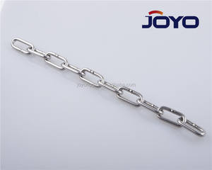 China manufacturer ss304 or SS316 DIN5685C long link chain