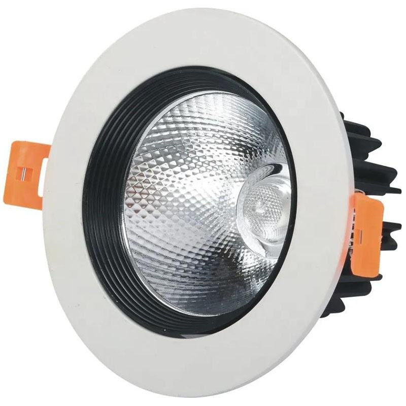 Easy to install home indoor decoration ce bis rohs 5w 7w 9w 12w 18w smd ceiling recessed black downlight led modern