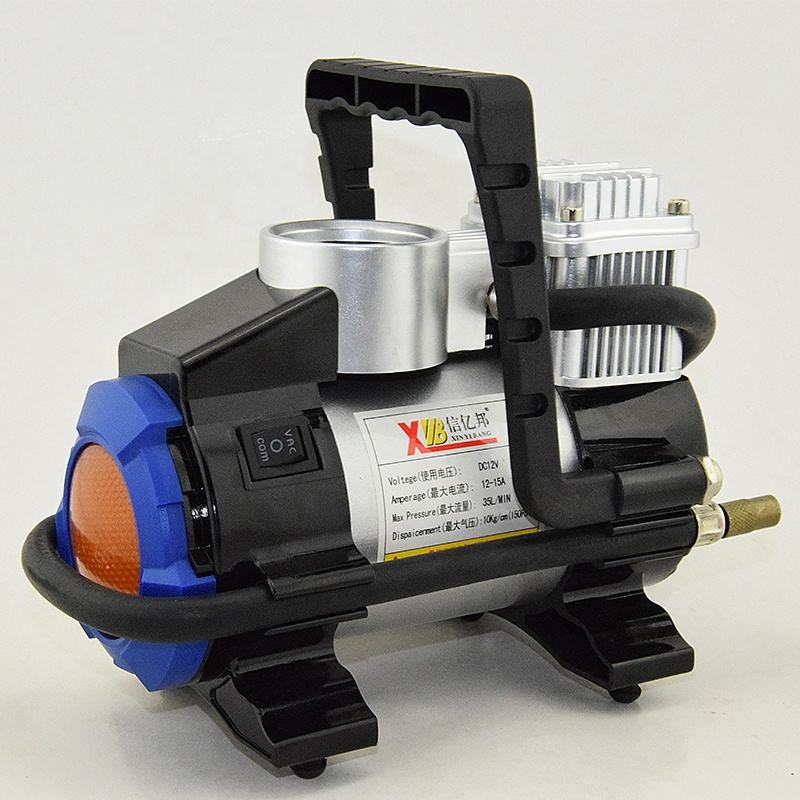 Portable Heavy Duty 12V 150PSI Car Air Pump Type Compressor With LED Light Metal Tire Inflator