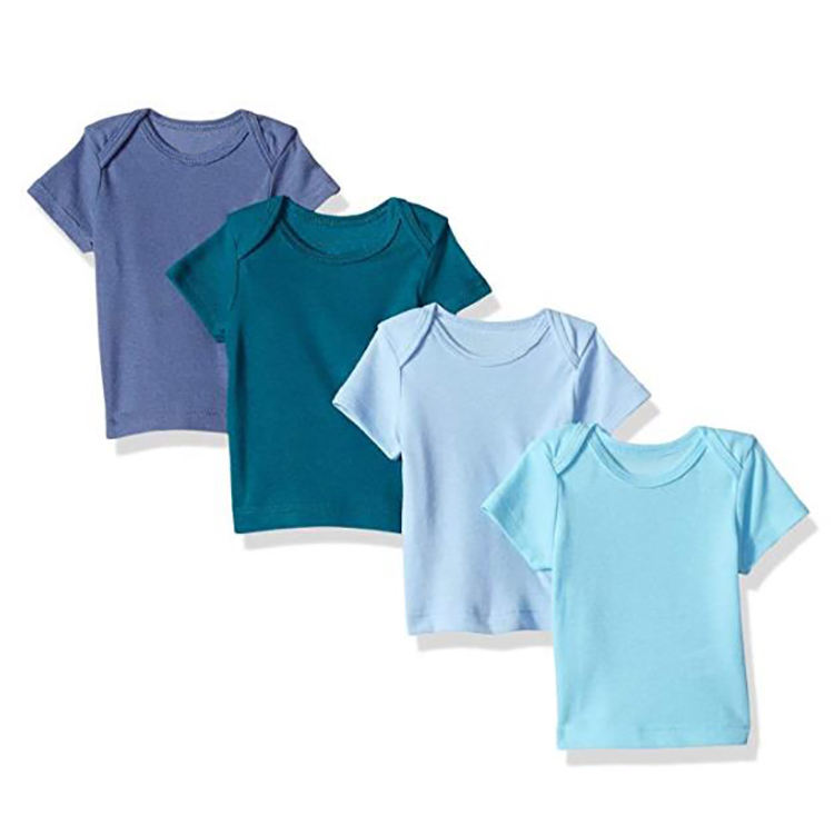 Wholesale High Quality Blank Baby T-shirts Baby Girl T Shirt