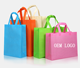 LOW MOQ Cheap Price Promotional Customized Colors Eco Tote Pla Non-Woven Shopping Bag, Recyclable PP Non Woven Bags