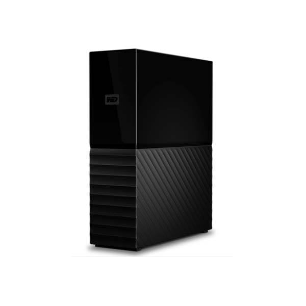 WD My book Desktop hard drive 3.5 in built-in 256-bit AES hardware encryption High-Capacity Storage