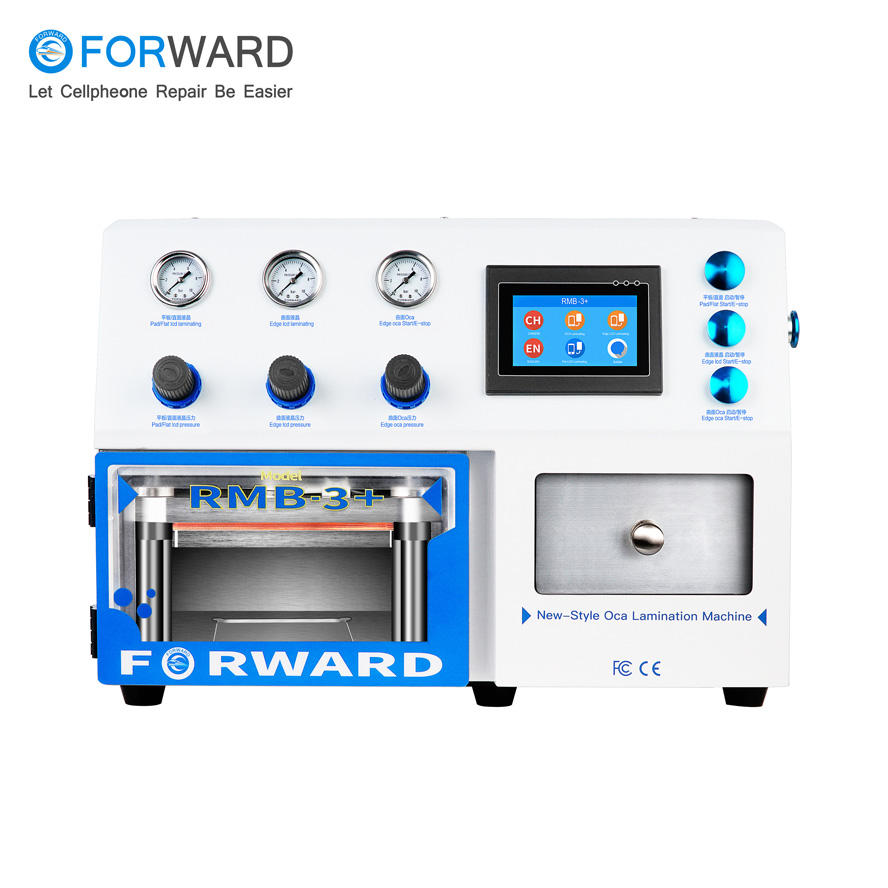 Free Shipping RMB-3+ Vacuum OCA Lamination Machine for Repair Lcd and Touch Screen