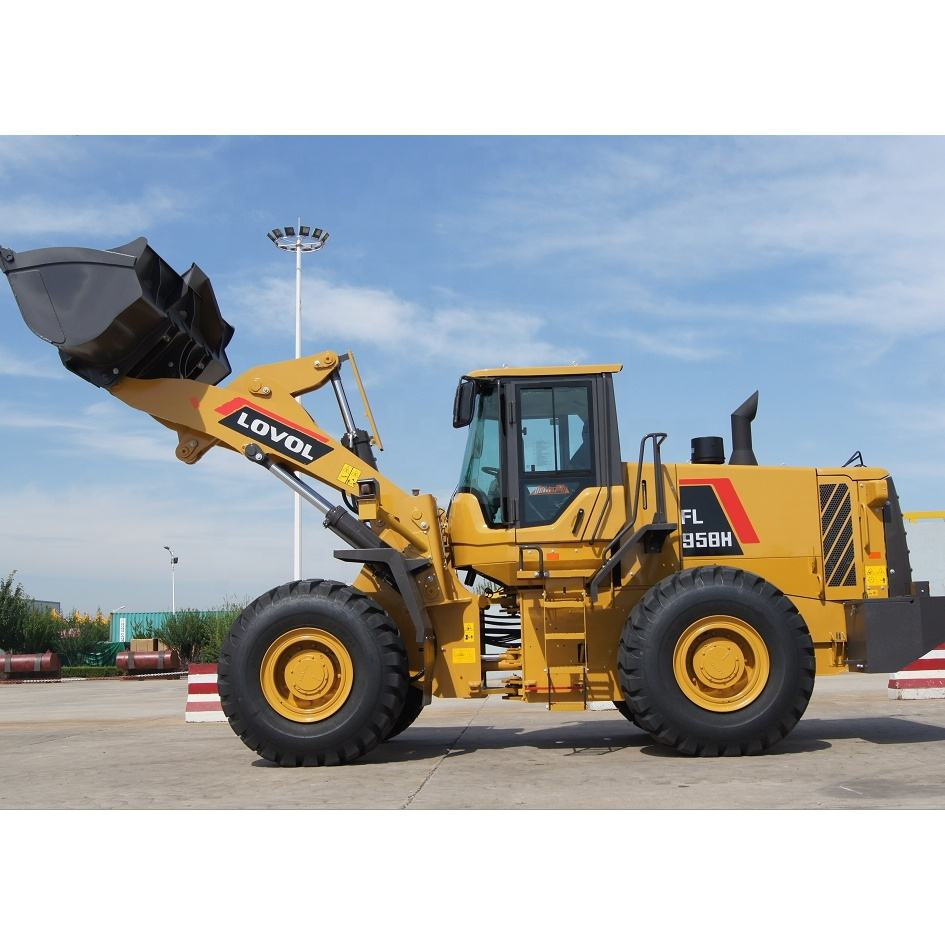 Foton lovol FL956 wheel loader price with WEICHAI WD615 engine