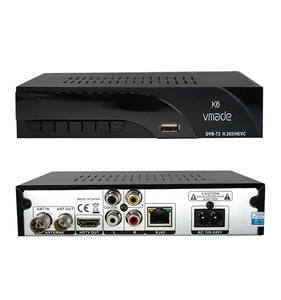 Full HD 1080P Decoder dengan Remote Control, DVB Receiver Tuner TV Box TV Digital