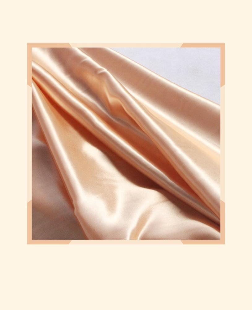polyester spandex full dull satin fabric, 50D*75D+40D