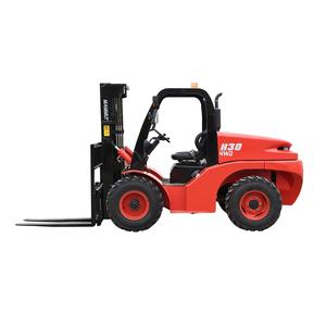 2021 New china 3 Ton all Rough terrain forklift for sale H30/35