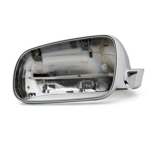 Left Side Rear View Mirror Cover For VW 1998-2004 Passat Golf Jetta MK4 Chrome