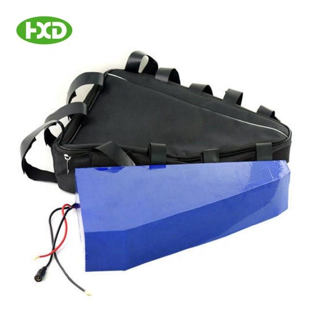 72V 20Ah factory made triangle lithium ion battery pack electric bike with removable battery electric bike battery 36v 18Ah