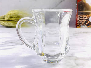 Eco Friendly Tea Cups And Saucers Customize Crystal Tea Coffee Cup And With Saucer