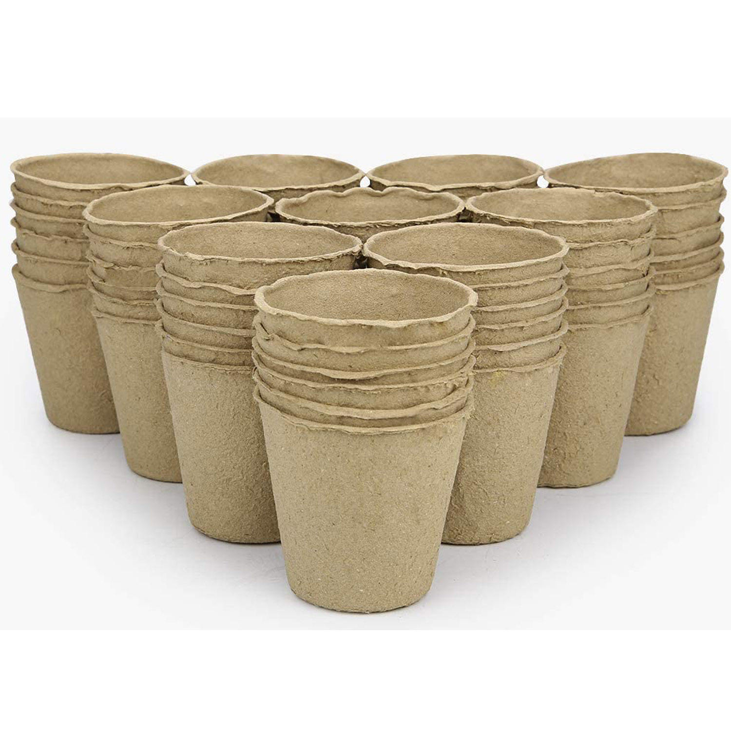 Biodegradable pulp seedling cup safe horticultural flowerpot environmental protection electronic medicine paper holder