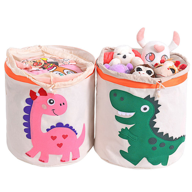 Folding Storage Box Dirty Clothes Collecting Case For Baby'S Toys To Receive Basket With Cover Oxford Storage Box/