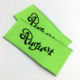 Garment woven label clothes printed label and tags cheap damask woven label for clothing