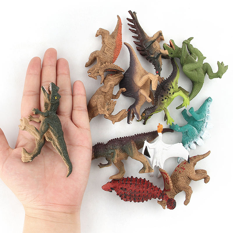 Hobbies Toys Mini Action Dinosaur Figure Animal Model Plastic Dino Toys Set