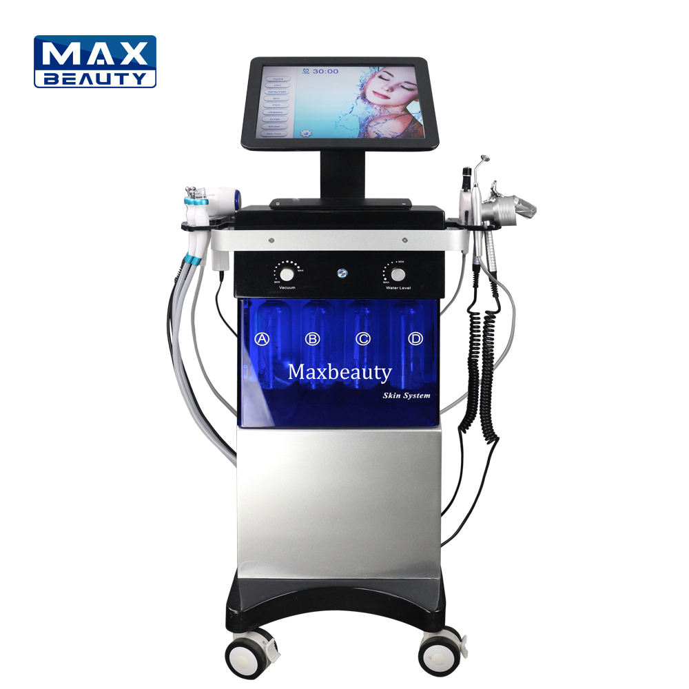 Facial Care 12 in 1 Multifunction High Frequency Skin Cleaning And Peeling Machine For Beauty Parlor Use