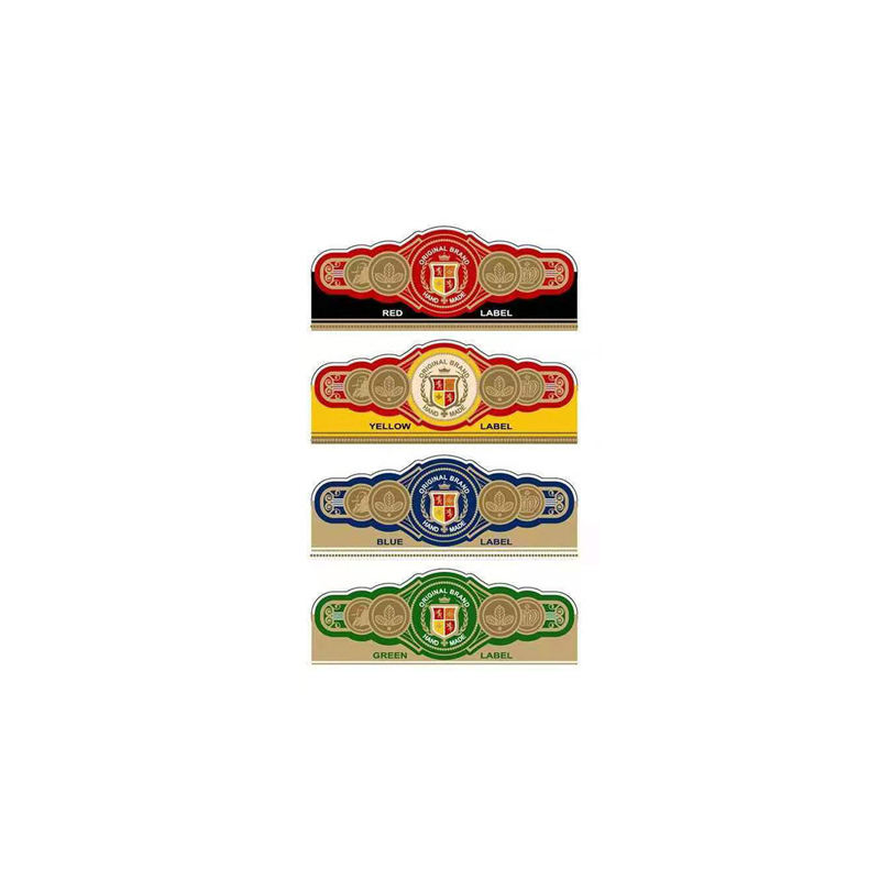 Personalized Cigar Band Labels