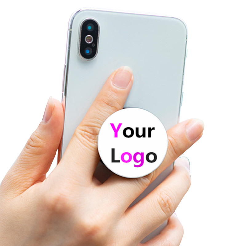 New product ideas 2019 free custom promotional items gift with logo,Hand Grip Cell Phone Holder