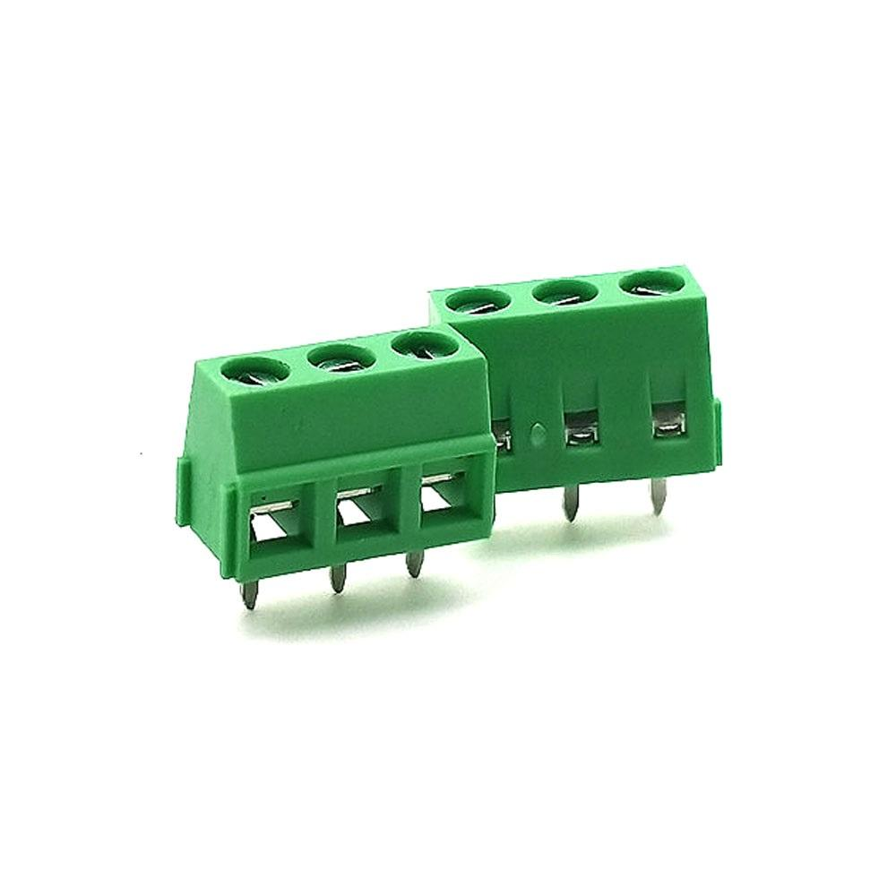 Hot sale Pitch 5.0mm 300V 10A PCB Screw Terminal Blocks Components vde terminal blocks