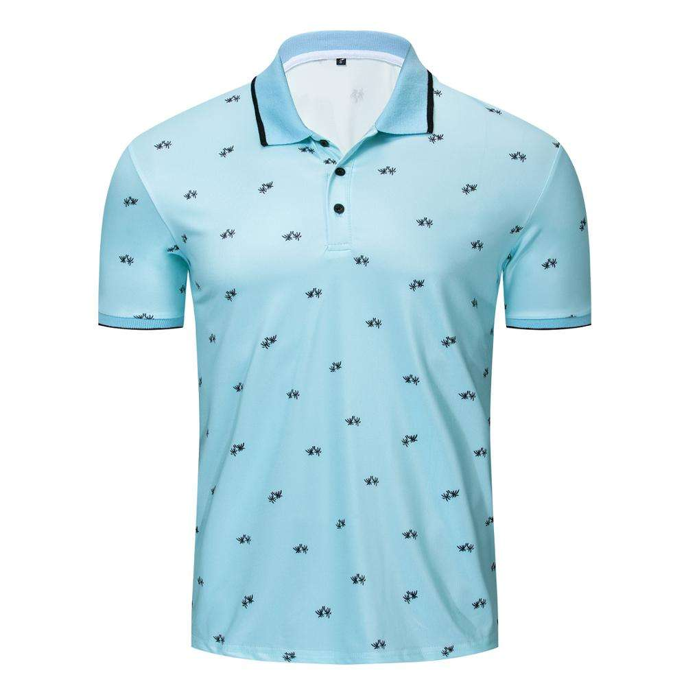Custom Sublimation Printing Men Short Sleeve Golf Polo T Shirt