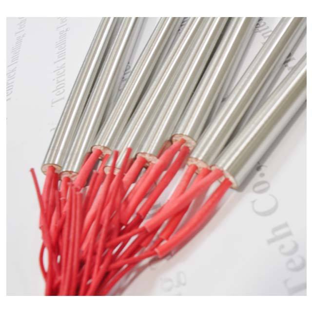 Tebrick Electric cartridge heating element with armoured cable