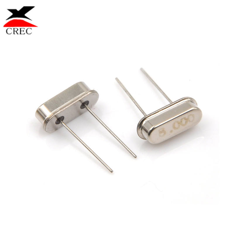 FREE SHIPPING 5 x 10.245 MHz 10.245MHz Crystal HC-49//S Low Profile